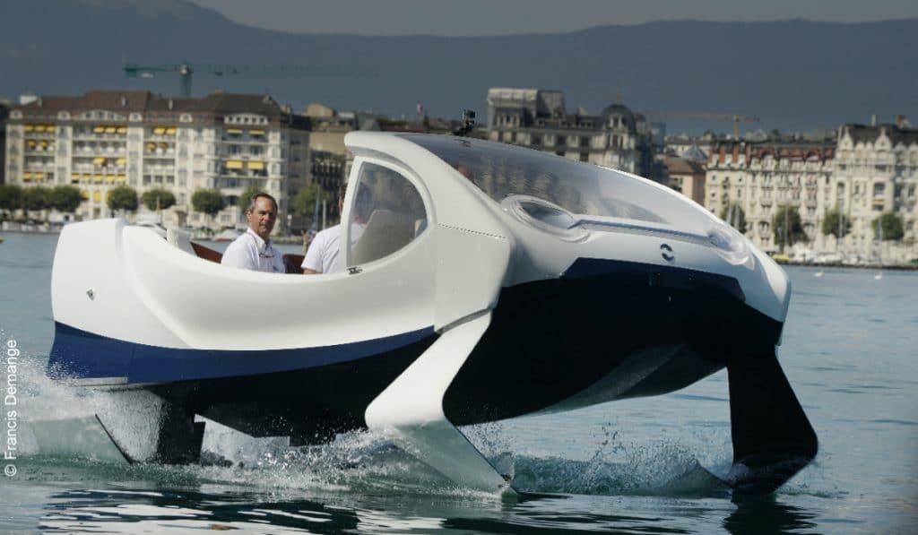 La Seine aura bientôt des taxis volants100% électriques !