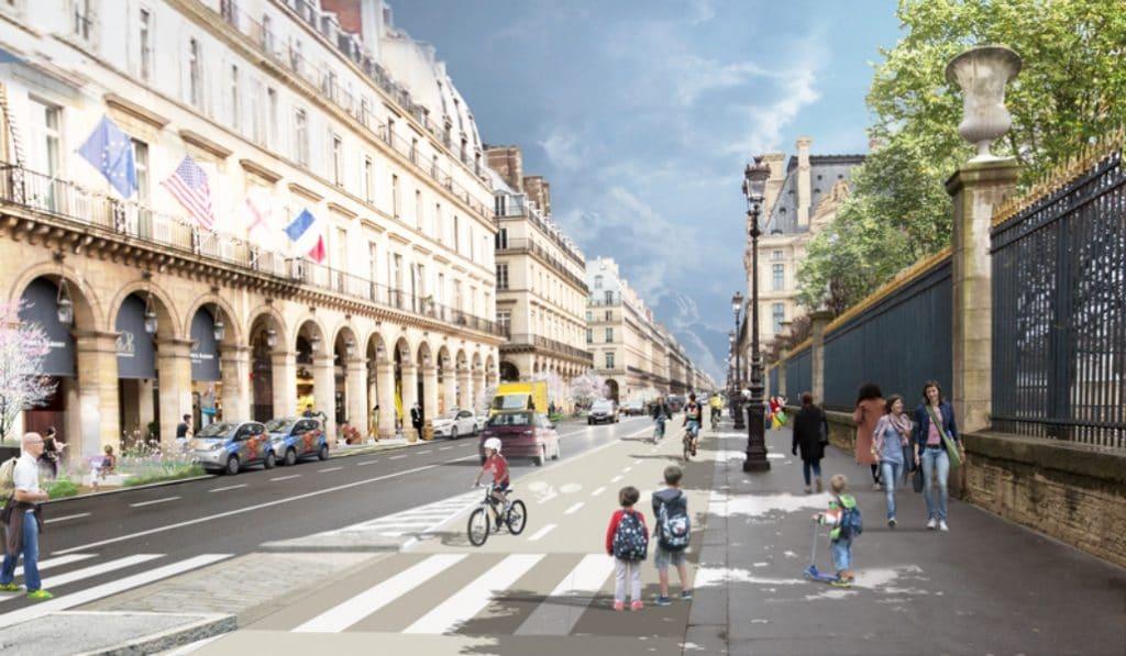 Les travaux de la piste cyclable commencent aujourd'hui sur la rue Saint-Antoine