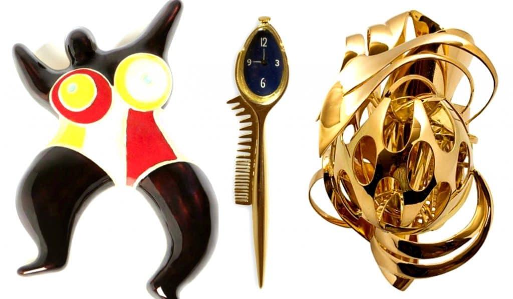 De Calder à Koons, bijoux d'artistes : la nouvelle expo des Arts Décoratifs