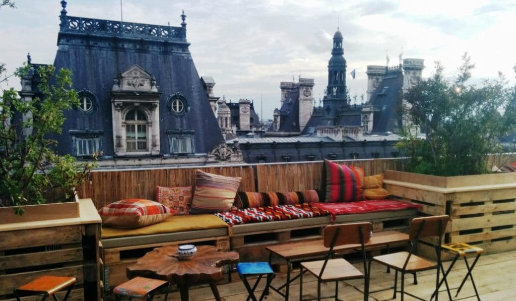 18 terrasses parisiennes où profiter du soleil !