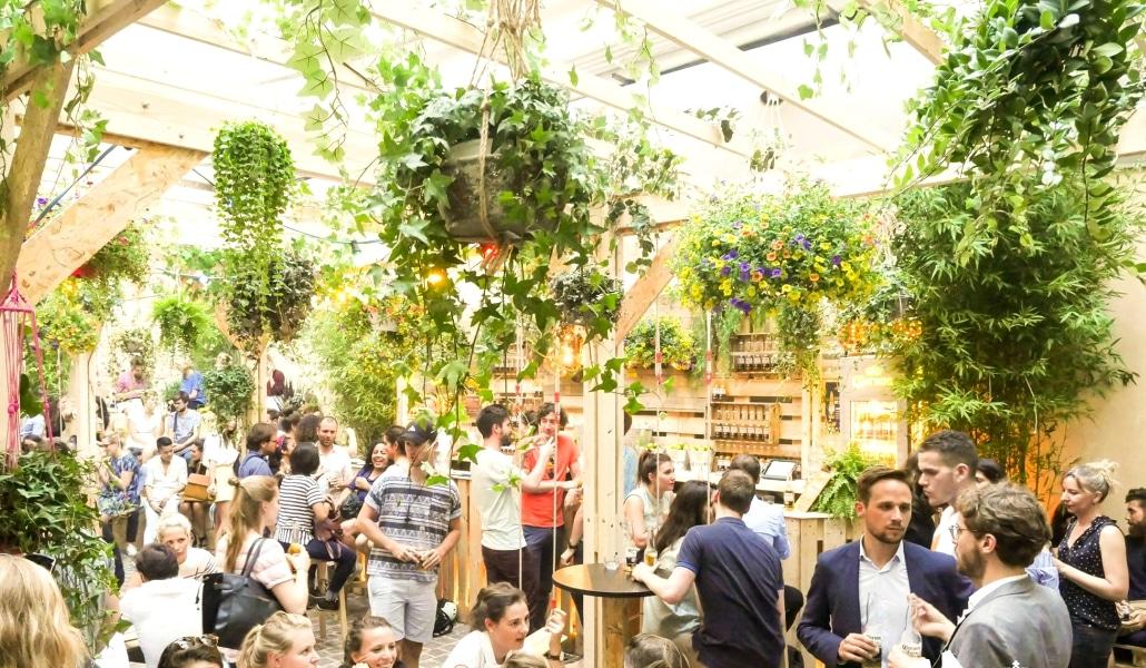 La Casa Corona, bar végétal éphémère, rouvre aujourd'hui !
