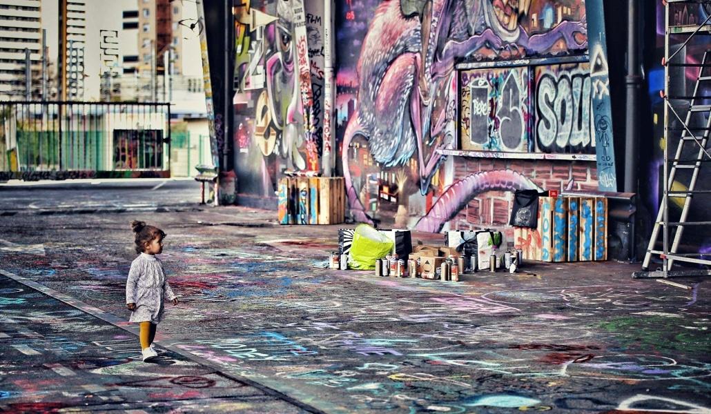 Street art, street food et patins : l'Aérosol réouvre ce week-end!