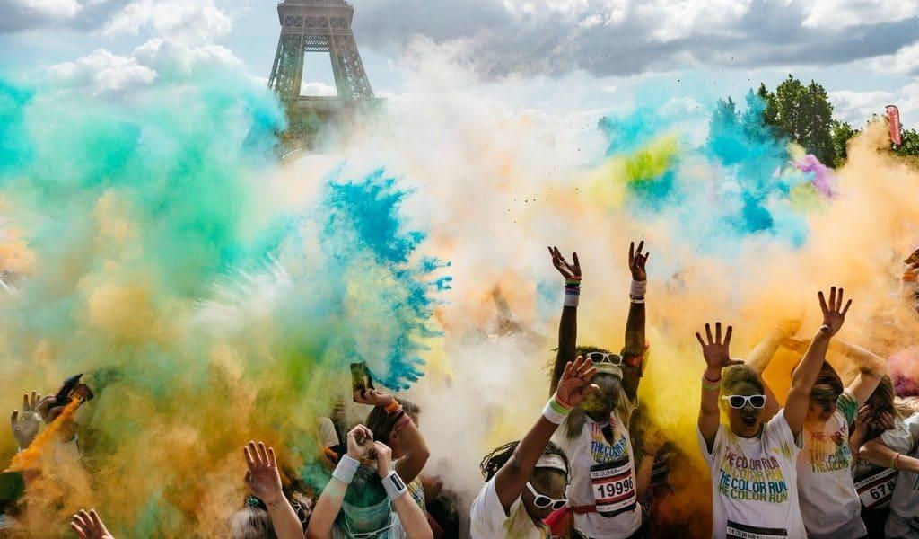 La Color Run débarque à Paris le 15 avril !