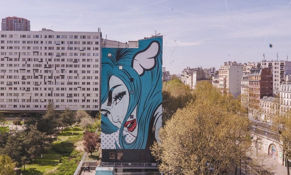 Deux nouvelles fresques pour le parcours Street Art XIII
