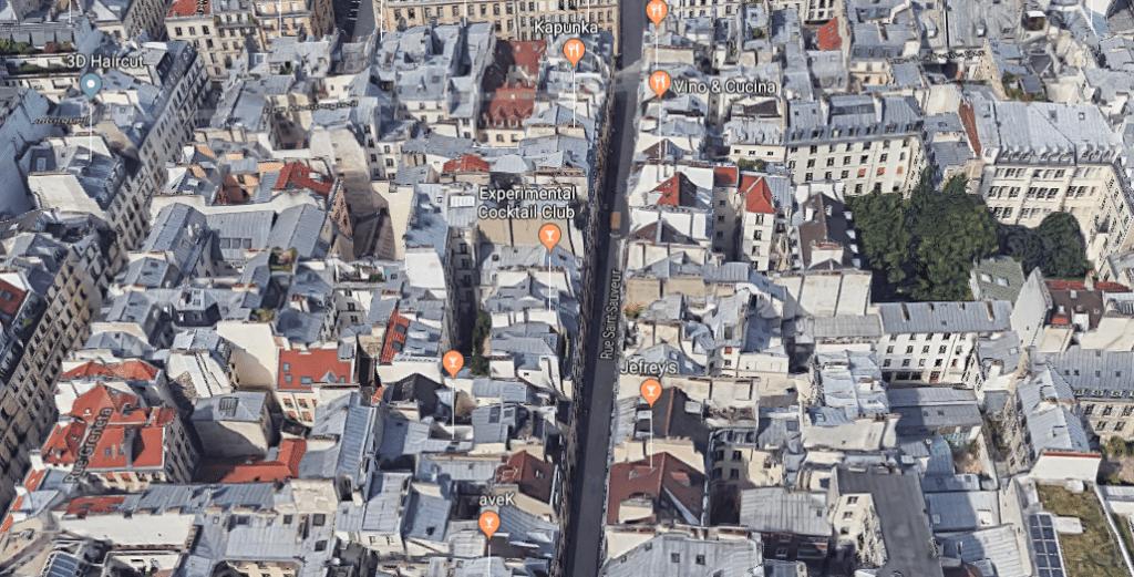 La rue Saint Sauveur: temple parisien de la food