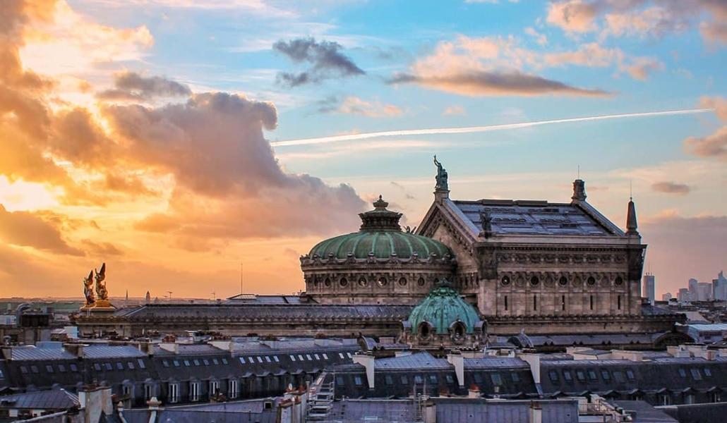 Les plus beaux couchers de soleil de Paris !