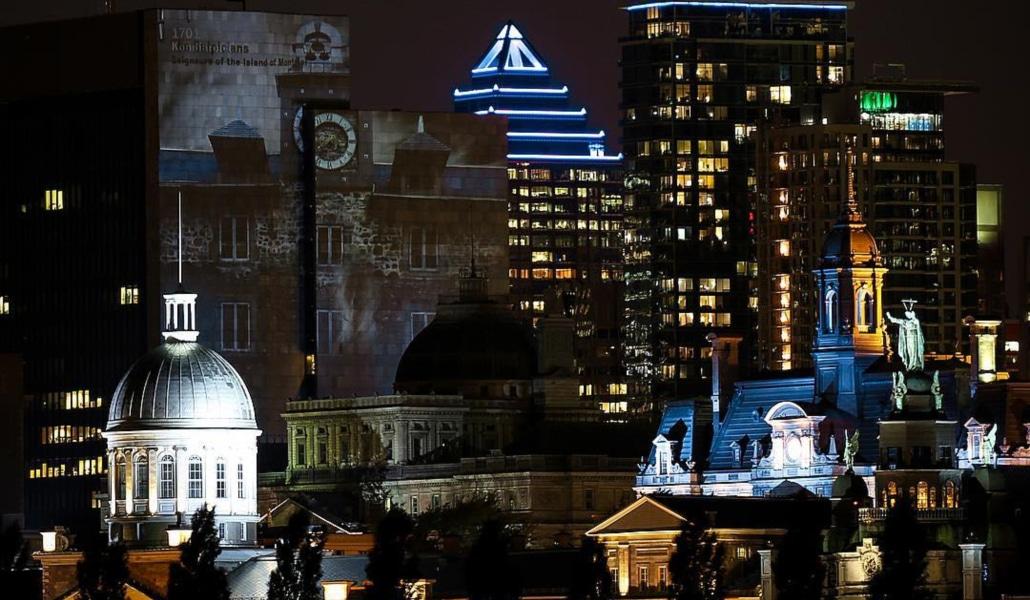 Cité Mémoire, la superbe balade interactive de Montréal, sera bientôt à Paris!