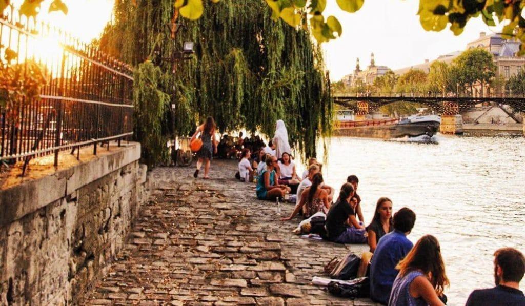 Un arrêté anti-alcool sur les quais de Seine existe depuis début juillet