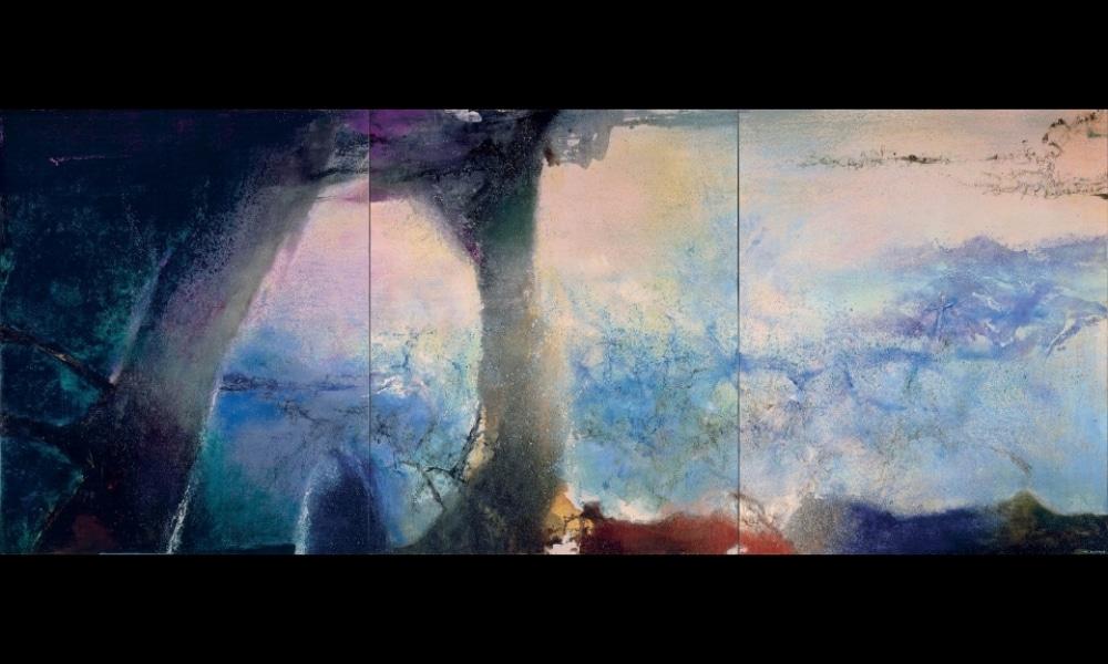 Qui est Zao Wou-Ki, l'artiste exposé au MAMcette année ?