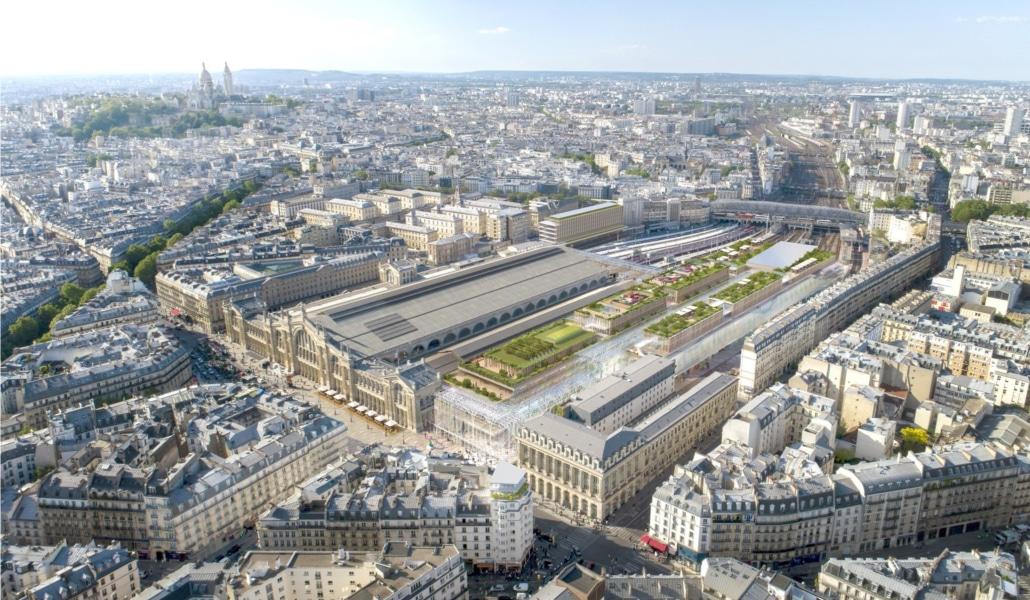 L'incroyable projet de rénovation de la Gare du Nord