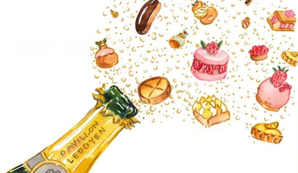 Le salon des champagnes et des pâtisseries fines : orgasme culinaire au Pavillon Ledoyen !