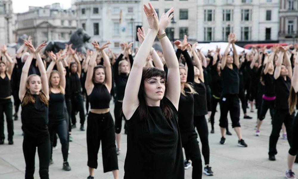 700 danseurs interpréteront une chorégraphie sur le parvis de l'Hôtel de Ville ce week-end