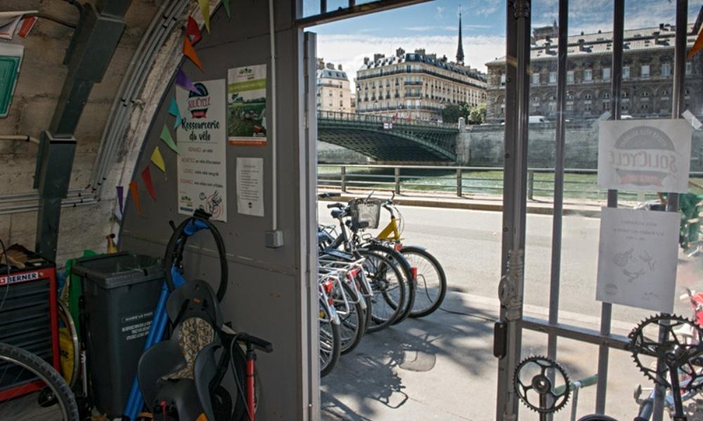Réparez gratuitement vos vélo sur les quais de l'Hôtel de Ville