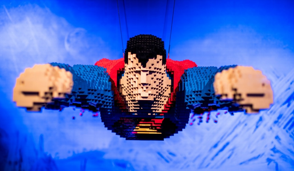 L'expo The Art of Brick : DC Super Heroes est prolongée jusqu'au 26 août