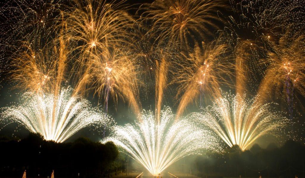 Ne ratez pas le plus grand feu d'artifice d'Europe à Saint-Cloud