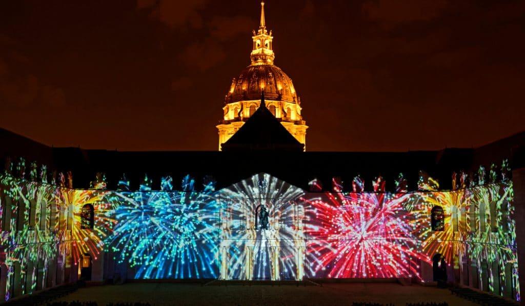 La Nuit aux Invalides : un spectacle son et lumières extraordinaire !