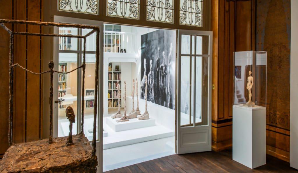 Découvrez l'atelier d'Alberto Giacometti