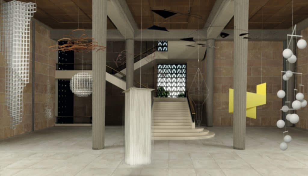 Double exposition sur l'histoire aérienne de la sculpture abstraite au Palais d'Iéna