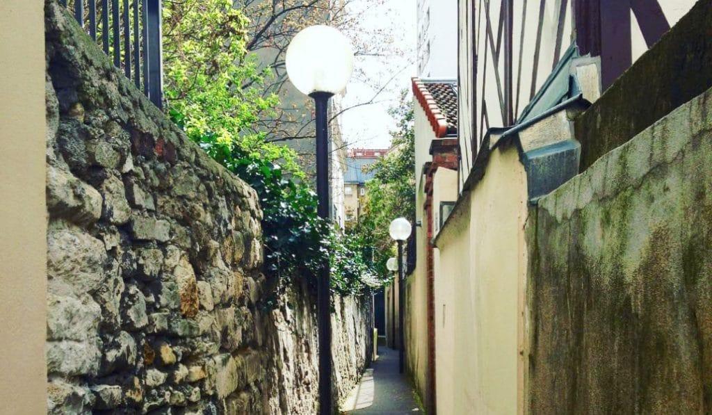Les 6 plus petites rues de Paris