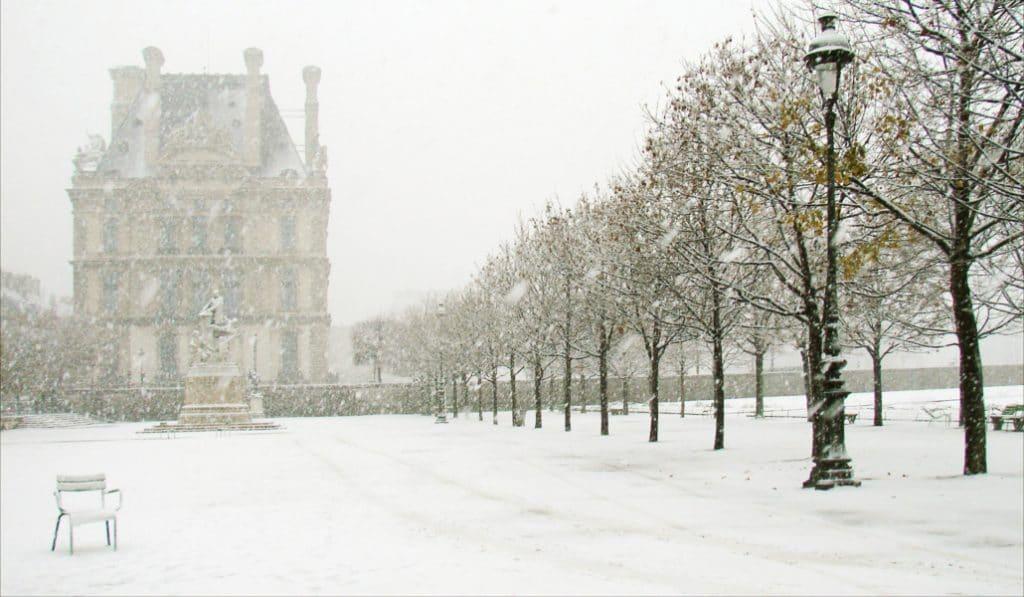 Il va neiger à Paris cette nuit !