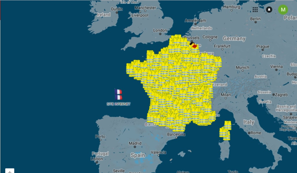 Le blocage des gilets jaunes aura bien lieu demain
