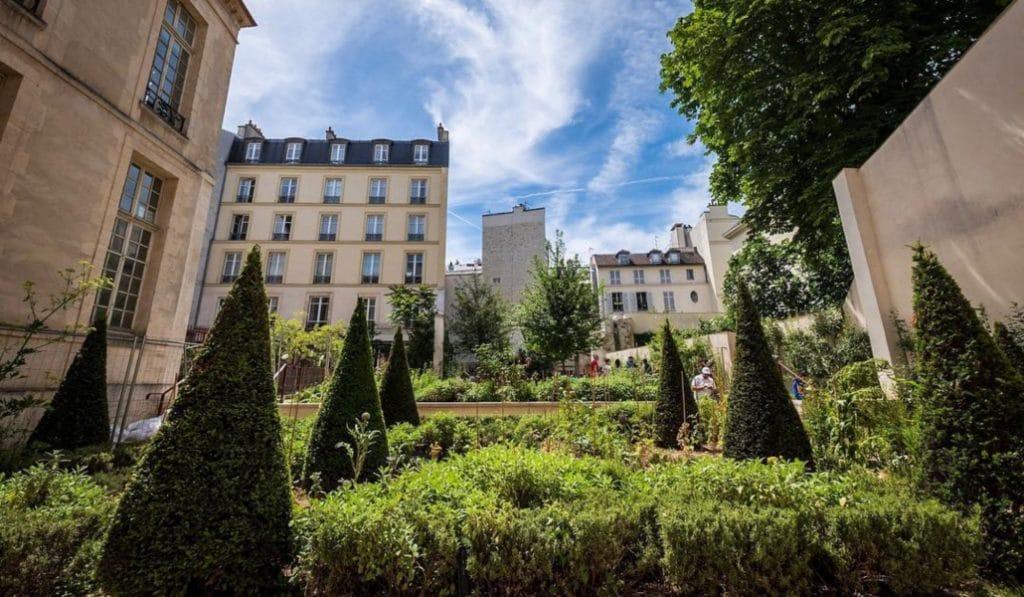 Le jardin secret du Marais