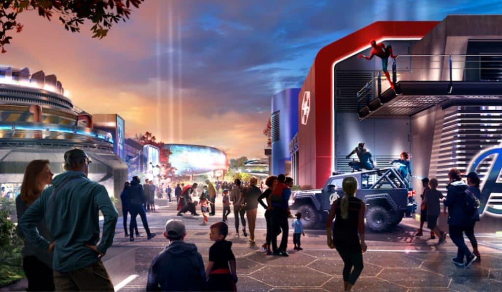 Disneyland Paris dévoile les premières images de son parc Marvel !