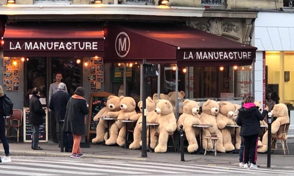 Les nounours se développent de plus en plus à Paris !