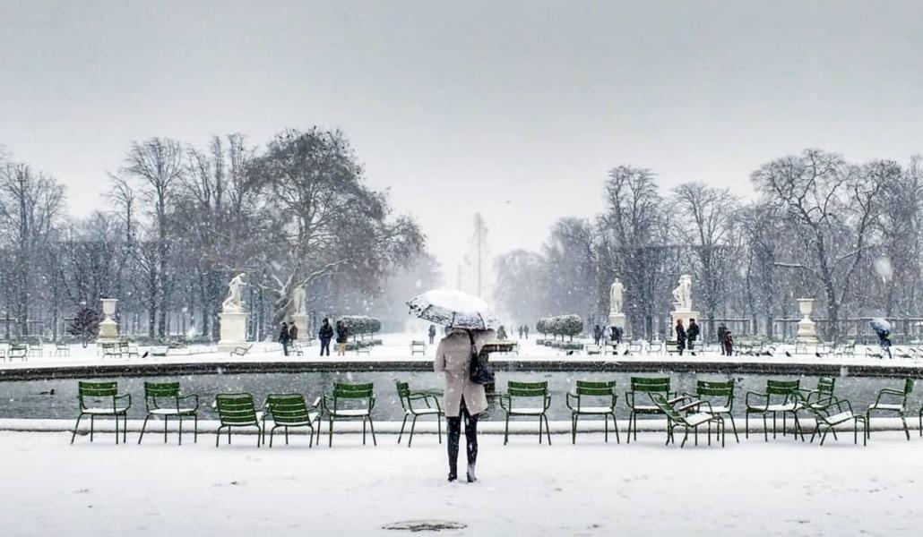 Les plus belles photos de Paris sous la neige !