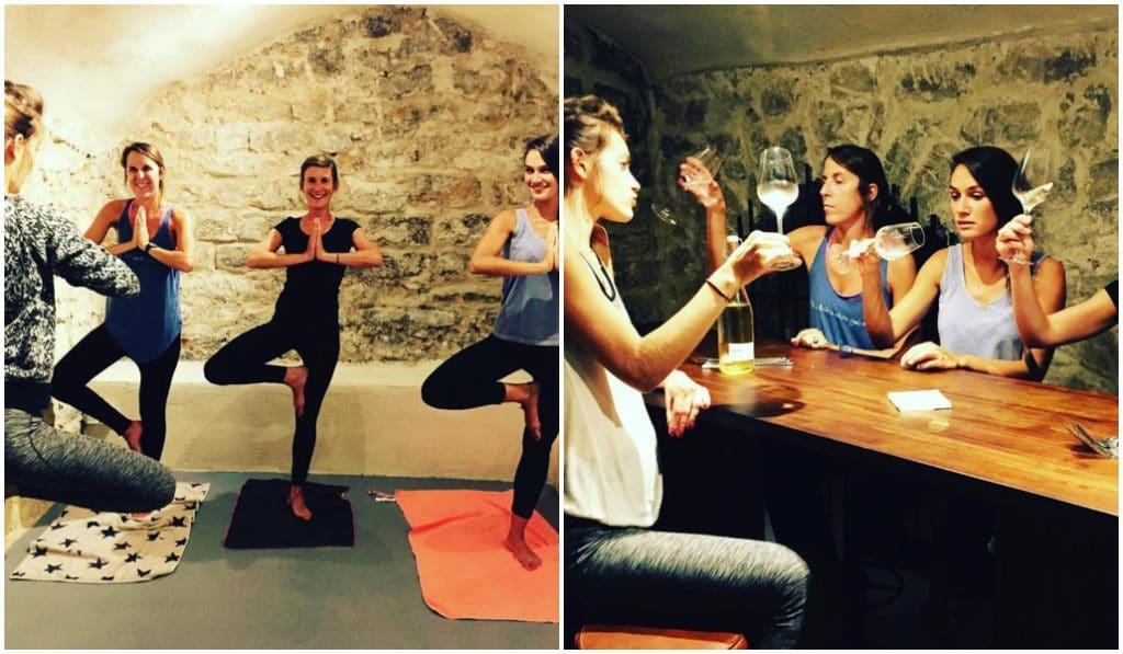 Découvrez les ateliers Yoga et Vin !