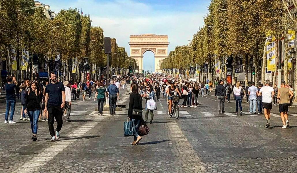 Dimanche, profitez d'une journée sans voiture à Paris !