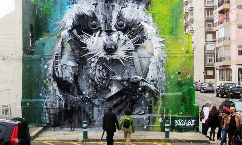 Bordalo II : le street artiste qui remue Paris
