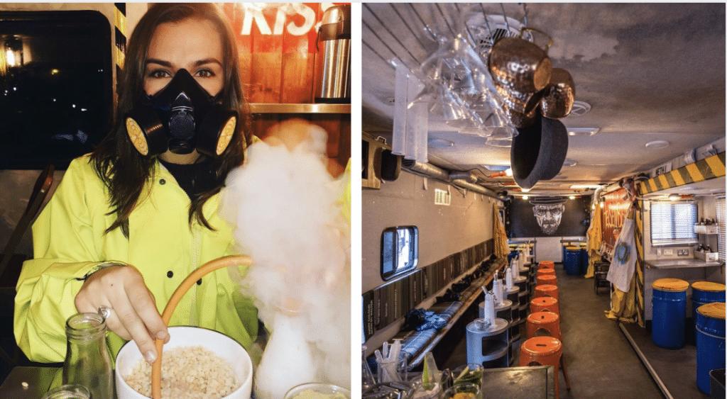 Le bar à cocktails moléculaires inspiré de Breaking Bad fait son retour à Paris !