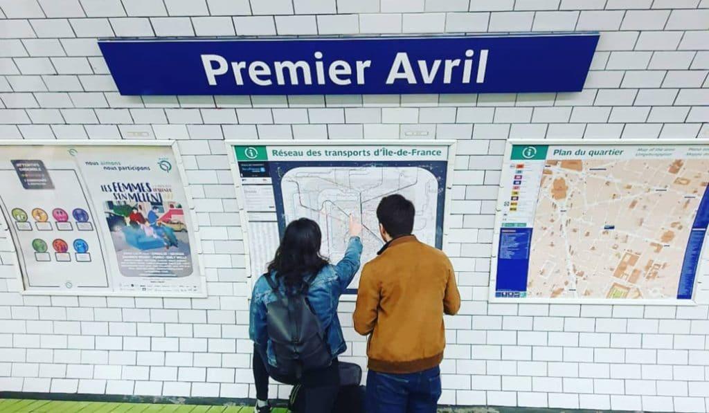Piégez vos amis grâce à la RATP ce lundi 1er avril !
