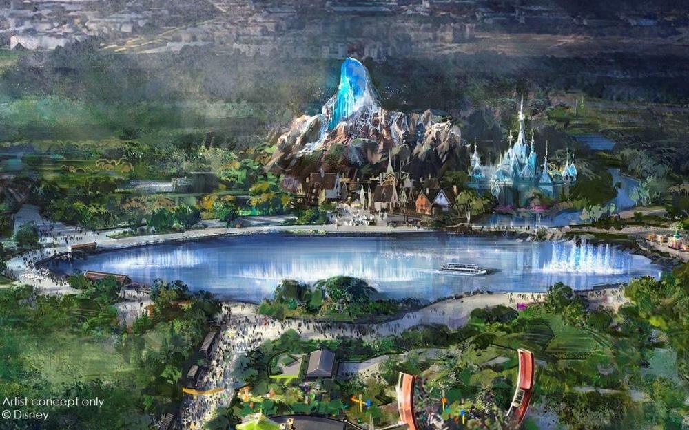 Extension de Disneyland Paris : Bientôt un lac géant et une montagne de 40 m !
