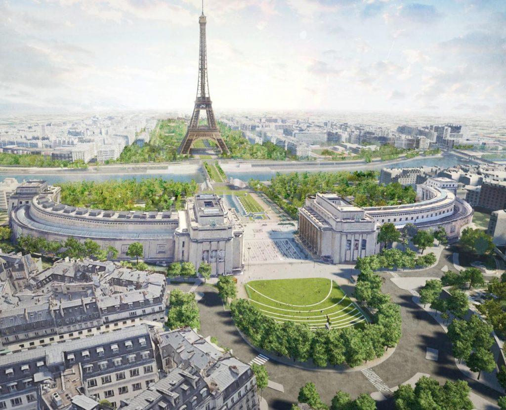 En 2024, «Le plus grand jardin» de Paris sera érigé autour de la tour Eiffel !