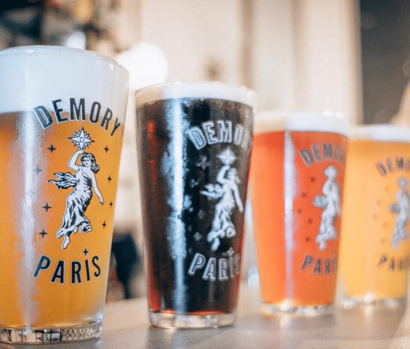 Demory Paris ouvre son Beer Garden pour tout l'été !