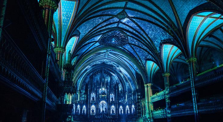 Un show de lumières éblouissant dans la Cathédrale Américaine de Paris jeudi 4 juillet !
