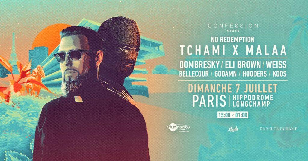 Tchami x Malaa : No Redemption & friends, le show électro à l'hippodrome ParisLongchamp