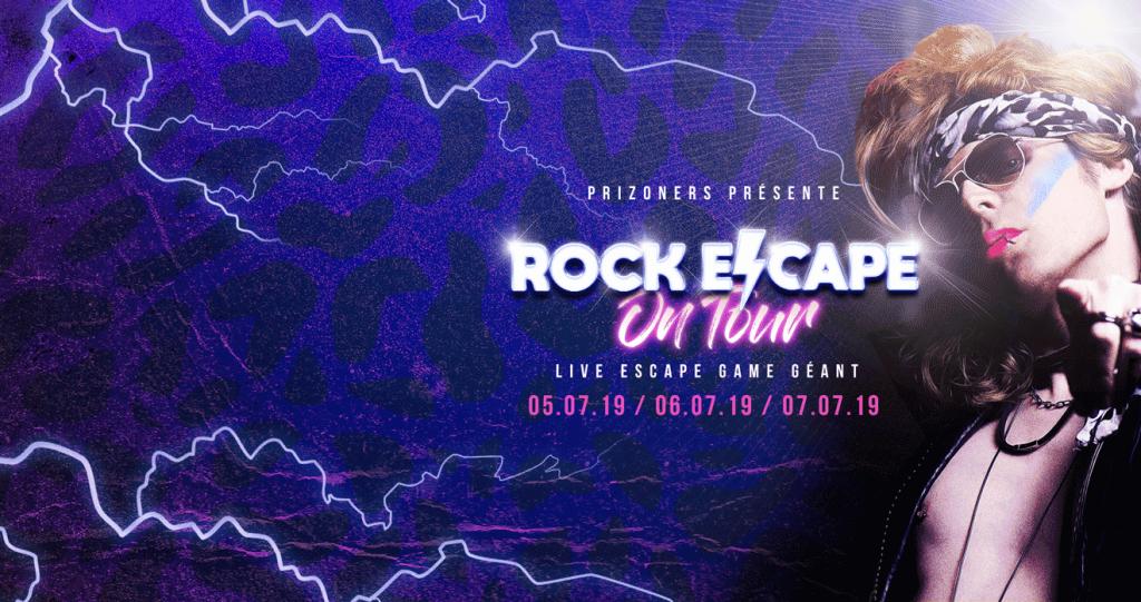 Un live escape game rock GÉANT débarque à Paris !