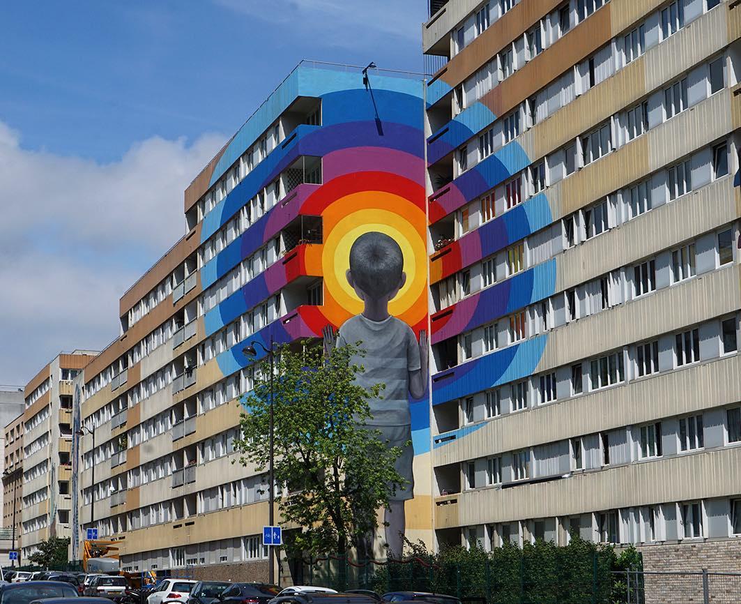 Boulevard Paris 13 : Inauguration d'un musée de Street art à ciel ouvert !