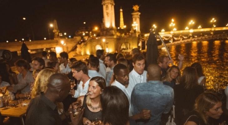 Les meilleures boat-party's et soirées péniches du mois d'août à Paris !