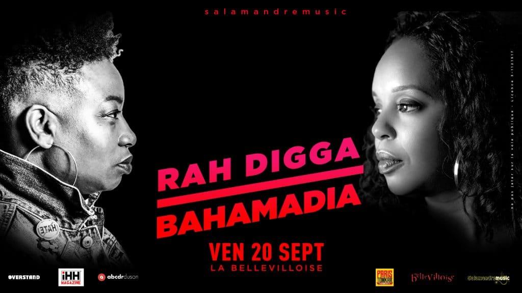 Rah Digga et Bahamadia débarquent à Paris pour une date unique en France !