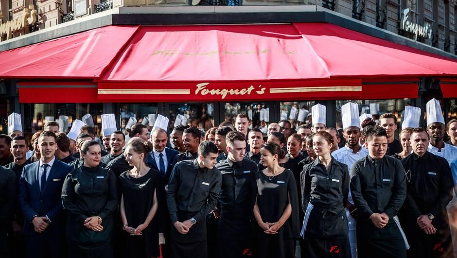 Le Fouquet's a rouvert ses portes sur les Champs-Élysées à Paris !