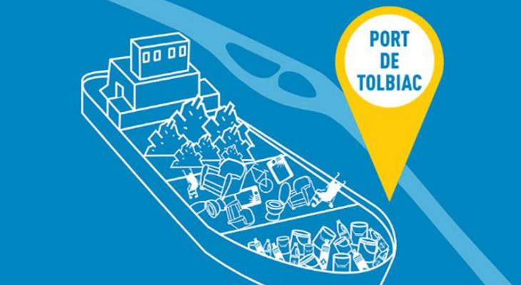 Tri en Seine : Une expérimentation de déchèterie fluviale à Paris