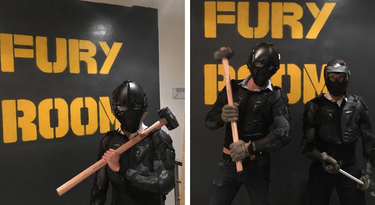 Fury Room Paris : Venez tout péter pour la rentrée !