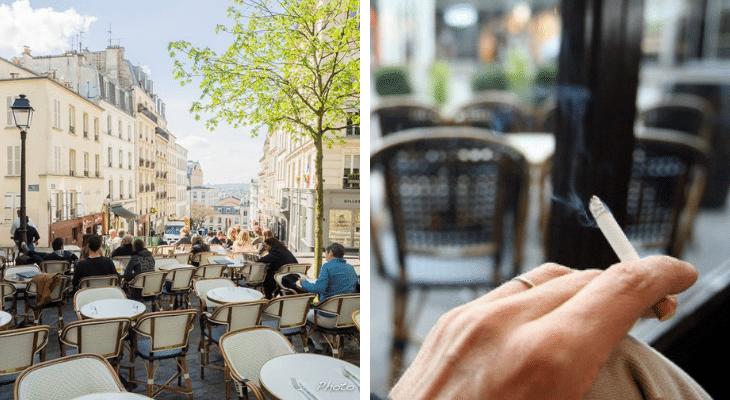 Les fumeurs bientôt exclus des terrasses de cafés ?