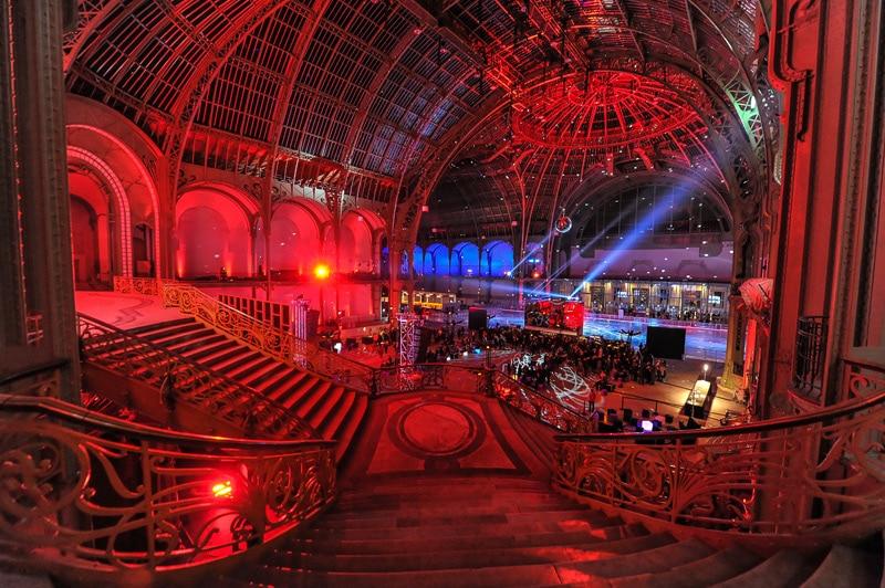 La plus grande patinoire intérieure au monde de retour au Grand Palais !
