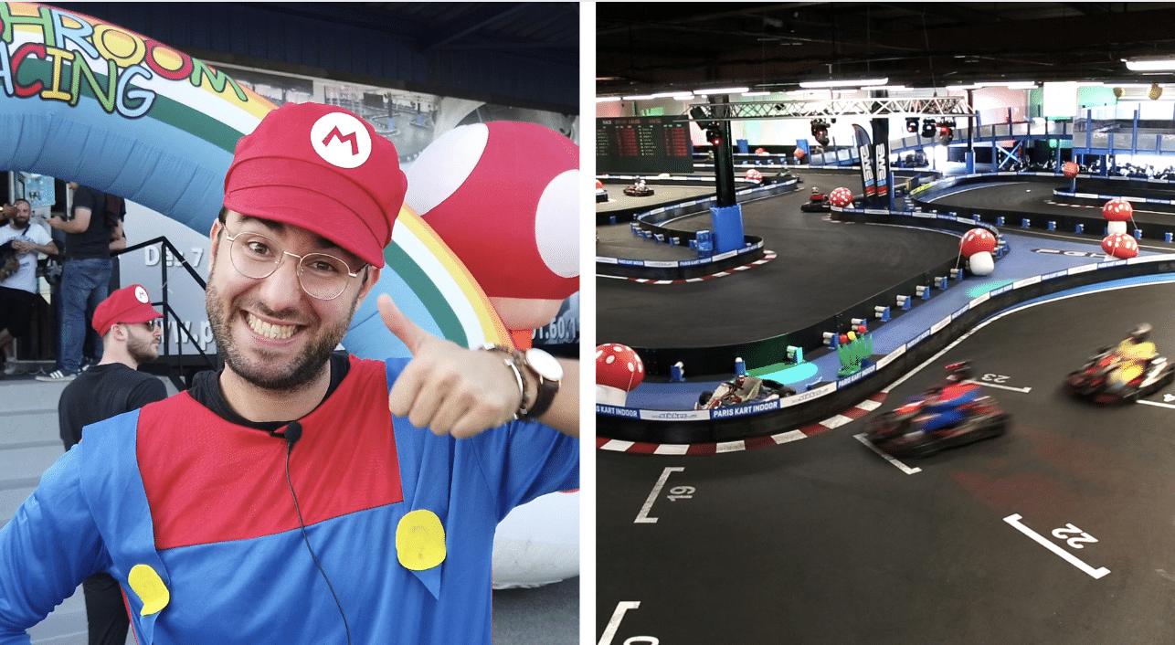 On a testé «Mushroom Rally», la course inspirée par le jeu vidéo Mario Kart et c'est de la bombe !