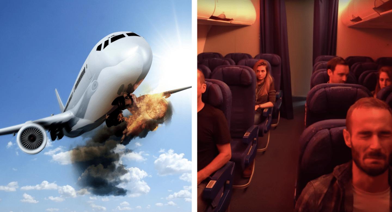 Paris : un escape game dans un avion qui va se crasher !